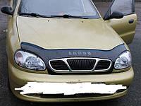 Дефлектор капота VIP TUNING Daewoo Lanos 2005- /с решеткой радиатора