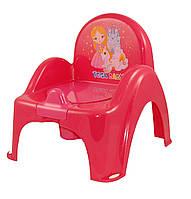 Горшок-стульчик с крышкой детский Tega Веселка Принцессы