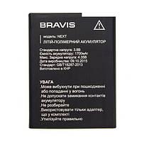Оригинальный аккумулятор АКБ батарея Bravis Next 1700mAh
