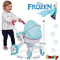Коляска с люлькой для куклы Frozen Smoby 511345