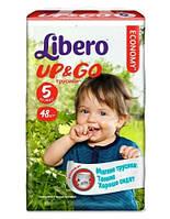 Подгузники-трусики Libero Up&Go 5 Maxi Plus (Либеро) 10-14кг №48