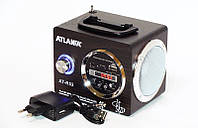Портативная колонка радиоприемник ATLANFA AT-R52
