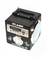 Портативная колонка радиоприемник ATLANFA AT-R61