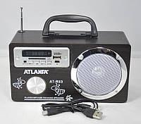 Портативная колонка радиоприемник ATLANFA AT-R83