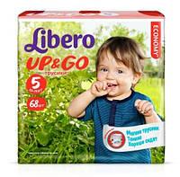 Подгузники-трусики Libero Up&Go 5 Maxi Plus (Либеро) 10-14кг №68
