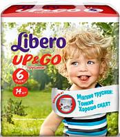Подгузники-трусики Libero Up&Go 6 XL (Либеро) 13-20кг №14