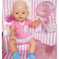 Интерактивный пупс Baby Born 8009-443, многофункциональный, 42 см, аксессуары