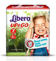 Подгузники-трусики Libero Up&Go 7 XL Plus (Либеро) 16-26кг №12