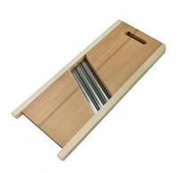 Шинковка для капусты деревянная на 3 ножа (30шт)