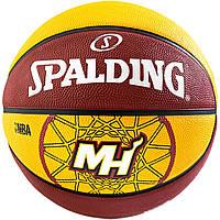 Мяч баскетбольний Spalding BASKET MIAMI HEAT