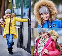 Куртка-парка детская зимняя (р.128-152)