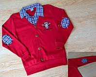 Одежда для мальчика в школу рубашка-обманка