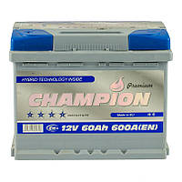 Аккумулятор Champion Premium 60Ah/600A / гарантия 2 года / 242х175х190