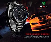 Мужские наручные часы Weide Sport Black/Red