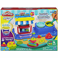 Двойные десерты набор Плей До Play-Doh Sweet Shoppe Double Desserts Playset