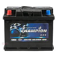 Аккумулятор Champion Black 60Ah/ пусковой ток 510A / гарантия 2 года