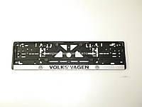 """Рамка номерного знака """"Volkswagen"""" CARLIFE - NH06"""