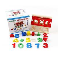 Деревянная игрушка Сортер BX-109