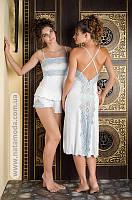 4041 Пижама с шортиками из вискозы Inessa фирмы Komilfo