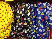 Модная детская куртка со знаками