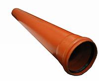 Пластиковая труба для наружной канализации Ø200Х3м SN2 EVCI с толщиной 3,9мм