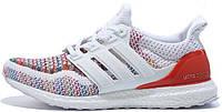 Мужские кроссовки Adidas Ultra Boost (адидас ультра буст) белые