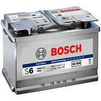 Аккумуляторы Bosch S6 AGM 60Ah/ пусковой ток 680A