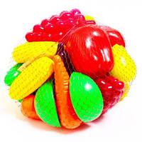 Набор фрукты и овощи 24 предмета Орион (518)