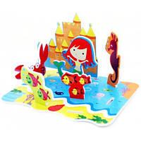 Meadow Kids Meadow Kids 3D сцена для ванной Королевство русалочки (MK 038)