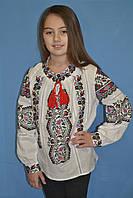 Нарядная детская блузка з вышивкой (О.Л.С)