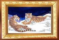 Схема для вишивки бісером Тигри. Арт. ВКД-2