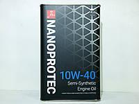 Масло моторное Nanoprotec 10w40 4л