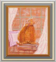 Схема для вишивки бісером Париж за вікном. Арт. СД-141