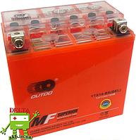 Аккумулятор MOTO YTX 14-BS(GEL) OUTDO (12V, 12A)