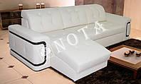 Вегас Угловой Диван с оттоманкой (NOTA)
