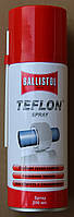 Смазка для оружия Klever Ballistol (баллистол) Тефлон PTFE (Teflon Spray) 200 мл (спрей) (2560)