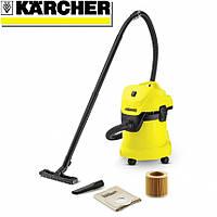 Пылесос Kаrcher WD 3 для влажной и сухой уборки (1.629-801.0)