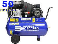 Воздушный компрессор поршневой Blueline 50BC2