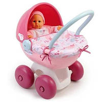 Коляска с люлькой для куклы Baby Nurse Smoby