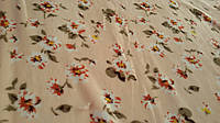 Махра лютик бежевый, ткань полированная, ширина 200 см