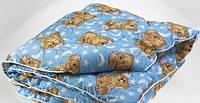Одеяло детское шерстяное 110*140 поликотон (2902) TM KRISPOL Украина