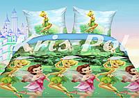 Постельное бельё детское Феи 150*220 хлопок (3315) TM KRISPOL Украина
