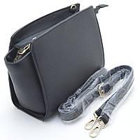 Качественная женская сумка-клатч. Классический дизайн. Черная сумочка. Интернет магазин. Код: КДН449