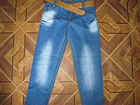 Детские классические джинсы+ ремень  для мальчика 3-6 лет Турция