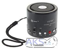 Портативный беспроводный динамик колонка, Мини-динамик, Портативная колонка микрофон, радио, micro SD USB МР3