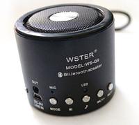 Bluetooth динамик колонка, Мини-динамик, Портативная колонка микрофон, радио, micro SD WS - Q9