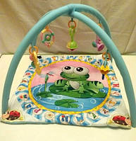 Развивающий коврик для малышей Лягушонок BY-A-30