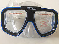 Маска для подводного плавания INTEX синяя