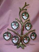 Фоторамка - семейное дерево 7 фотографий 23 сантиметров высота