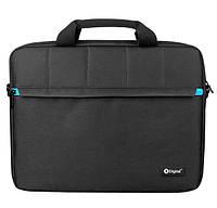 """Сумка-портфель деловой для ноутбука 16"""" X-Digital Austin 116 Black"""